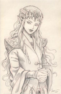 Zelda + Sansa